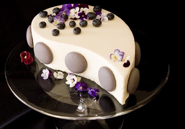 Как сделать глазурь для торта из белого шоколада